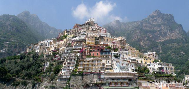 Positano on the Amalif Coast, Italy