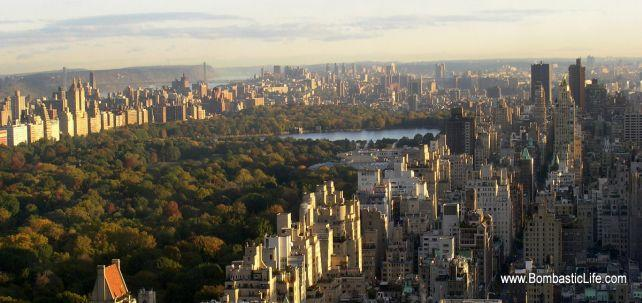 Central Park and New York City, NY