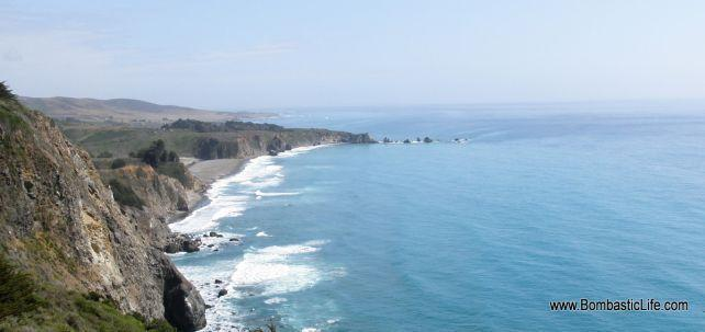Pacific Coast along Highway 1 in California