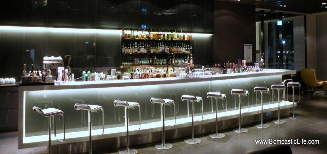 Lufthansa First Class Lounge - Frankfurt, Germany