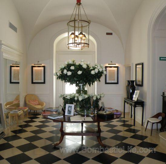 Jk Place Capri entrance and lobby - j.k. place - capri, italy