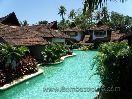 Meandering Pool At Kumarakom Lake Resort India This Pool Is Shared A Number Of Villas