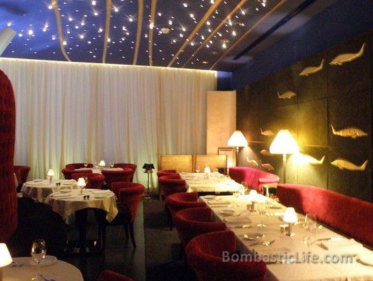 la maison du caviar restaurant at the w hotel in doha qatar