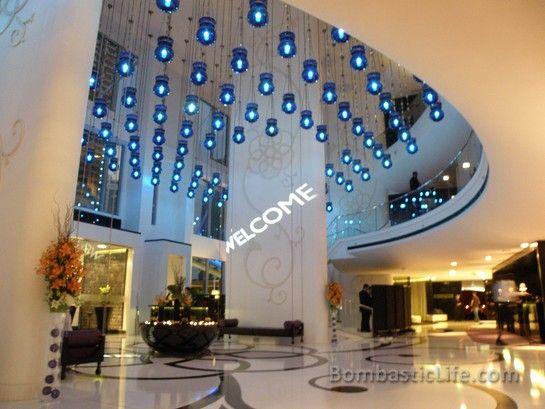 Lobby Of The W Hotel Doha Qatar